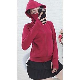 Áo khoác nữ chống nắng che mặt