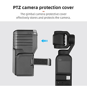 Lens Protective Cap Abs Camera Lengthen Protective Cover For Dji Pocket 2 Lens