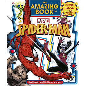 The Amazing Book Of Marvel Spider-Man (Includes A Gigantic Poster of Spider-Man, Plus Fun Fold-Out Pages)