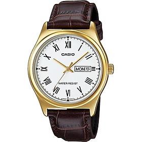 Đồng hồ nam dây da Casio MTP-V006GL-7BUDF