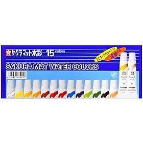 Màu Nước Sakura Mat Water Color 5ml 15 Màu