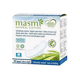 Băng vệ sinh ban đêm hữu cơ Masmi (10m)