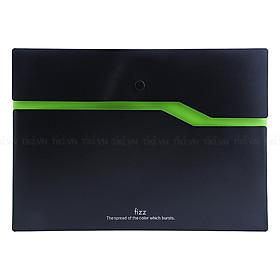 Hình đại diện sản phẩm Bìa Nút A4 Guangbo FX 103002 Đen Viền - Màu Ngẫu Nhiên