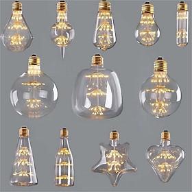 Bộ 5 bóng đèn led trang trí hình ST64, đèn trang trí độc đáo hàng chính hãng
