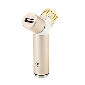 Máy Lọc Không Khí Kiêm Bộ Sạc Nhanh USB 3.0 Và 2.0 Cho Xe Ô Tô Cho Thiết Bị Samsung/Xiaomi/Máy Tính Bảng Oscoo 001