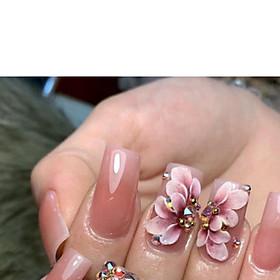 Hoa Nổi 08 vẽ kiểu trang trí móng