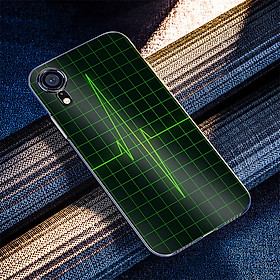 Ốp điện thoại dành cho máy iPhone XR - Nhịp tim MS ACOTU001