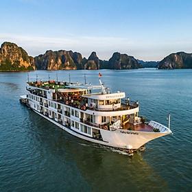 TMB4. Tour ghép Miền Bắc 6N5Đ khám phá các địa điểm siêu hot tại Hà Nội - Vịnh Hạ Long - Sapa (Chèo thuyền kayak, Ngủ đêm trên Vịnh Hạ Long)