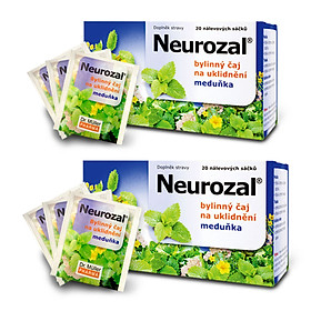 Combo 2 Hộp Trà An Thần Thảo Mộc Neurozal Dr. Muller - Giải Tỏa Căng Thẳng - Giúp Thư Thái Ngủ Ngon – Chính Hãng Từ Cộng Hòa Séc