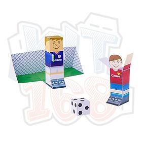 Mô hình giấy đồ chơi Mini Football