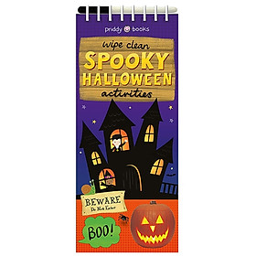 Wipe Clean Spooky Halloween (Wipe Clean Thins)