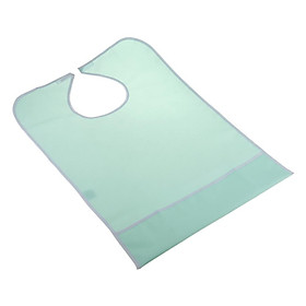 New Waterproof Adult Mealtime Bib Protector Disability Aid Apron