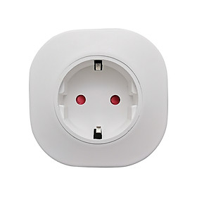 WIFI Intelligent Socket Plug Home Socket Compatible with Amazon Alexa Echo/Google Home Support Voice Control APP Remote