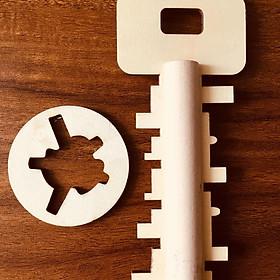 Bộ chìa khóa gỗ - Phát triển Tư duy Logic-
