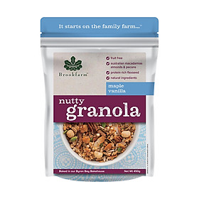 Ngũ cốc Brookfarm Nutty Granola (C)- Gói 350g