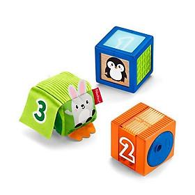 Hộp vuông nhỏ đồ chơi cho bé Fisher-Price - 3 chiếc