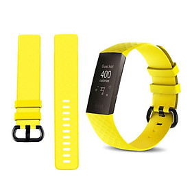 Dây Đeo Cổ Tay Silicone Fitbit Charge 3 Thể Thao