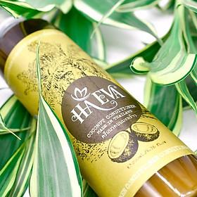 Combo 2 chai Dầu xả tinh dầu Dừa Haeva 200ml-1