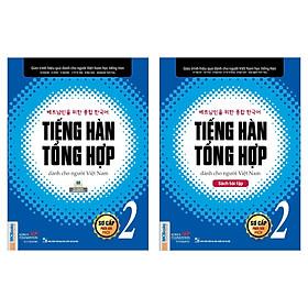Combo Cẩm Nang Học Tiếng Hàn Bán Chạy: Tiếng Hàn Tổng Hợp Dành Cho Người Việt Nam - Sơ Cấp 2: Giáo Trình + Sách Bài Tập (Bộ Sách Giúp Bạn Công Phá Tiếng Hàn Thành Công / Tặng Kèm Bookmark Green Life)