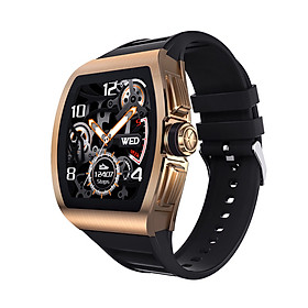 1.4 Inches Smart Watch IPS Colorful Screen Men Business Style Support BT Call Heart Rate Blood Pressure Monitor Sport