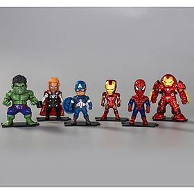 Mô Hình Biệt Đội Avengers 6 nhân vật