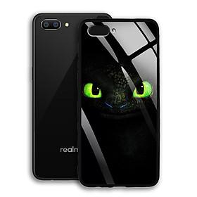 Ốp Lưng Kính Cường Lực cho Realme C1 - 03040 - 7803 TOOTHLESS01 -  Hàng Chính Hãng