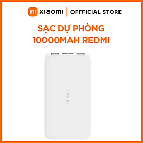 Pin Sạc Dự Phòng Xiaomi Redmi 10000mAh PB100 - Hàng Chính Hãng