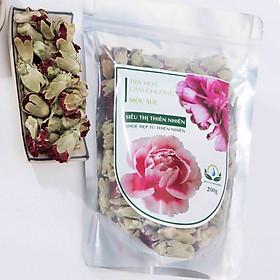 Hình ảnh Trà Hoa Cẩm Chướng Sấy Khô Mộc Sắc