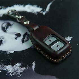 Bao chìa khóa ô tô CRV - H.O.N.D.A -  da bò nhập khẩu - đồ da handmade DT151