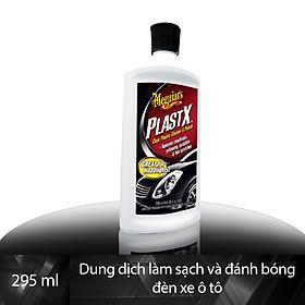 Meguiar's Kem làm sạch, tẩy sáng và đánh bóng đèn xe ô tô, G12310 - 296ml
