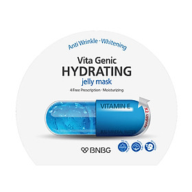 Mặt nạ giấy cấp nước dưỡng ẩm da mềm mượt, căng bóng Banobagi Vita Genic Hydrating Jelly Mask (Vitamin E) 30ml