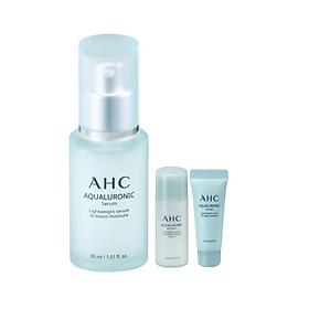 Tinh Chất Dưỡng Ẩm AHC Aqualuronic Serum 30ml - Tặng Bộ Dưỡng Ẩm AHC Aquarulonic (2 Món)