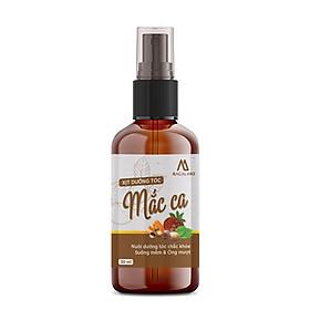 Xịt dưỡng tóc Macadamia 30ml MACALAND công dụng nuôi dưỡng và phục hồi mái tóc bồng bềnh, giảm xơ rối không gây bết dính hương thơm nhẹ nhàng hàng chính hãng công ty, xuất xứ Việt Nam