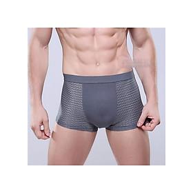 Bộ 5 quần boxer nam thông hơi phối cotton, quần sịp đùi nam mã D02