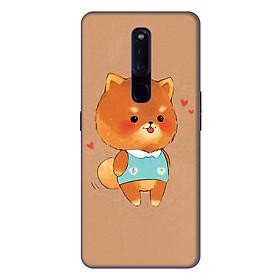 Ốp lưng điện thoại Oppo F11 Pro hình Gấu Bông - Hàng chính hãng