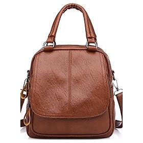 Hình đại diện sản phẩm Balo kết hợp túi đeo vai và túi xách thời trang Onimax BL149 ( NÂU )