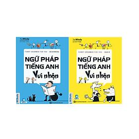 Combo Học Ngữ Pháp Tiếng Anh Thật Dễ Dàng ( Ngữ Pháp Tiếng Anh Vui Nhộn - Beginners + Ngữ Pháp Tiếng Anh Vui Nhộn - Basic ) tặng kèm bookmark