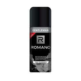 Xịt Ngăn Mùi Toàn Thân Romano Gentleman 150ml (mẫu mới)