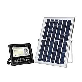 Đèn pha led năng lượng mặt trời 50w