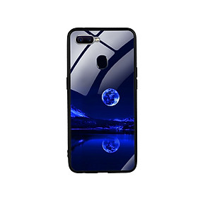 Ốp Lưng Kính Cường Lực cho điện thoại Oppo F9 -  0269 MOON02