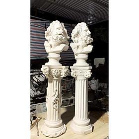 DECOR, Cột phục hưng, Cột tân cổ điển, tượng thạch cao
