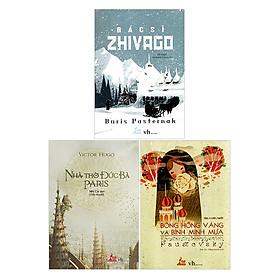 Combo Nhà Thờ Đức Bà Paris - Bông Hồng Vàng Và Bình Minh Mưa - Bác Sỹ Zhivago (Tái Bản)