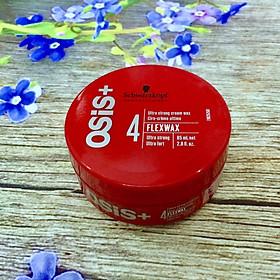 Sáp vuốt tóc  cứng Schwarzkopf Professional OSIS+ Flexwax Ultra Strong Cream Wax 85ml-0