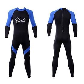 Bộ đồ lặn, quần áo lặn biển cho NAM 3mm HEVTO giữ ấm, thoáng khí, chống thầm nước - POKI