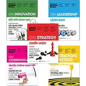 Bộ 5 Cuốn Sách HBR On Point Kinh Điển ( ON STRATEGY - CHIẾN LƯỢC + ON LEADERSHIP - LÃNH ĐẠO + ON INNOVATION - ĐỔI MỚI SÁNG TẠO + ON COMMUNICATION - TRUYỀN THÔNG GIAO TIẾP + ON STRATEGIC MARKETING - MARKETING CHIẾN LƯỢC ) tặng kèm bookmark Sáng Tạo