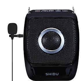 Máy Trợ Giảng Không Dây UHF Wireless Shidu SD-S92 Tặng Kèm Micro Cài Áo Có Dây- Hàng Chính Hãng
