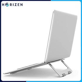 Đế tản nhiệt cho Laptop, Macbook - Giá đỡ, kệ đỡ, phụ kiện cao cấp cho Macbook, Laptop bằng hợp kim nhôm gấp gọn - Horizen Z02