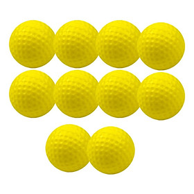 Set Of 10 Golf Training Ball φ4.2cm For Pets Play Beginner Training Aid