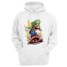Áo Hoodie Luigi Mario