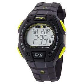 Đồng Hồ Nam Dây Nhựa Timex Ironman Classic TW5K86100 (42mm) - Đen